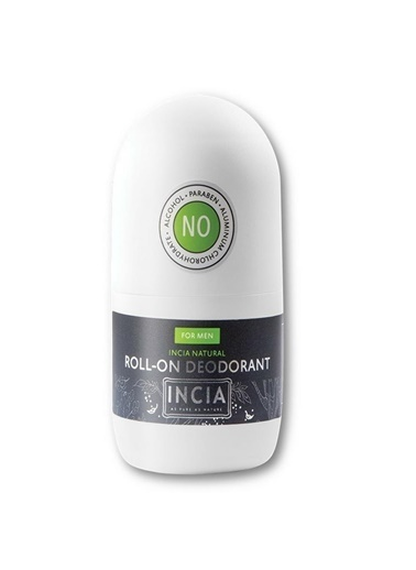 Incia Incia Natural Roll-on Deodorant For Men 50ml Renksiz